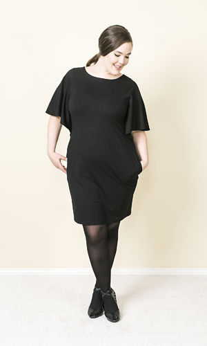 GINA TUNIC DRESS BLACK