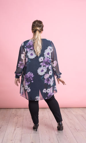 ROSE TUNIC DARK NAVY