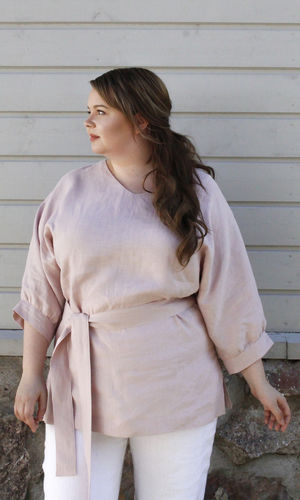 LEILA TUNIC LIGHT PINK